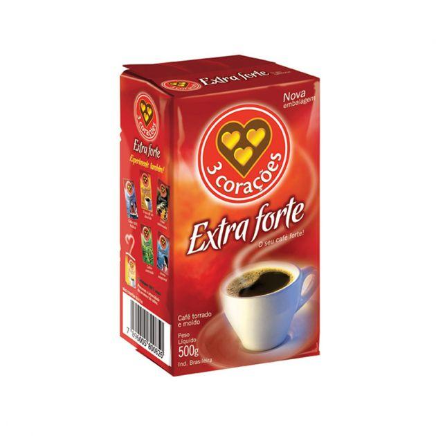 Café em Pó Extra forte 500g - 3 Corações