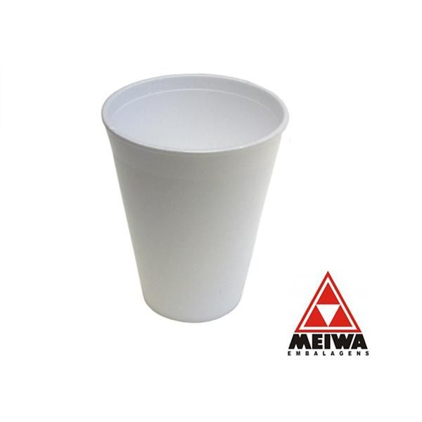 Copo Térmico Isopor 300ml c/ 25un - Meiwa