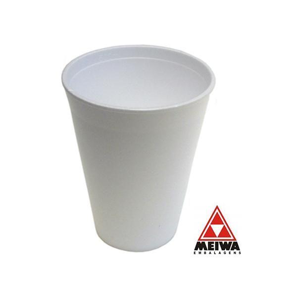 Copo Térmico Isopor 500ml c/ 25un - Meiwa