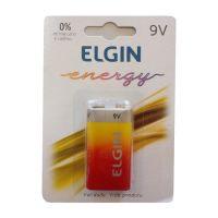 Pilha Bateria 9V Zinco - Elgin