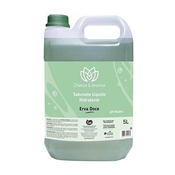 Sabonete Líquido Hidratante Erva Doce 5L Cheiros e Aromas
